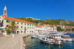 Marina in Hvar Stock Image