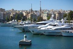 Marina i Grekland Fotografering för Bildbyråer