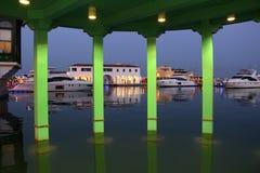 Marina i Limassol Arkivfoto