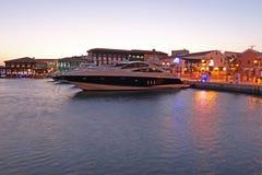 Marina i Limassol Arkivbild