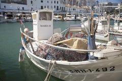 Marina i port Mahon, Menorca Royaltyfri Fotografi