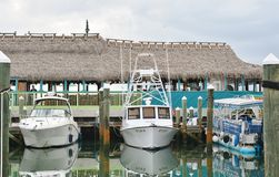 Marina I restauracja Obrazy Stock