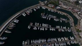 Marina i Turkiet lager videofilmer