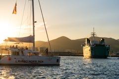 Marina Ibiza, Ibiza, Spain royalty free stock photography