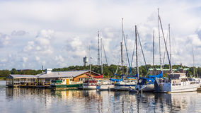 Marina in Karlskrona Stock Photography