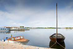 Marina in Karlskrona Royalty Free Stock Photos