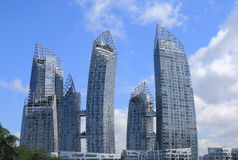 Contemporary architecture Singapore  Royalty Free Stock Images
