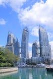 Contemporary architecture Singapore  Stock Photo