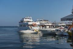 Marina in Kerynia Royalty Free Stock Images