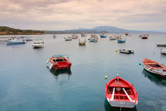 Marina of Koroni Stock Photography