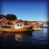 Marina koster sweden Sunny day Stock Photography