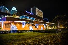 Marina Kwadratowy Singapur zdjęcia royalty free