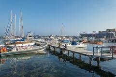 Marina in Kyrenia Stock Image