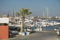 Marina in Kyrenia Stock Photos