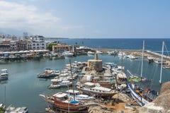 Marina in Kyrenia Royalty Free Stock Photography