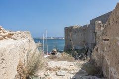 Marina in Kyrenia royalty free stock images