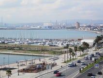 Marina in La Linea de Concepcion Stock Image