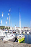The marina of La Rochelle (France) Stock Images