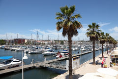 Marina of Lagos, Algarve Portugal Stock Images