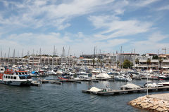 Marina of Lagos, Algarve Portugal Stock Photos