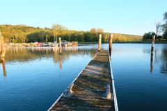 Marina on Lake Cayuga Royalty Free Stock Image