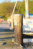 Marina on Lake Cayuga. At Ithaca, New York Stock Photo