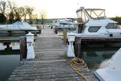 Marina on Lake Cayuga Royalty Free Stock Images