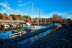 Marina 2 Royalty Free Stock Images