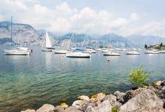 Marina at Lake Garda Royalty Free Stock Photo