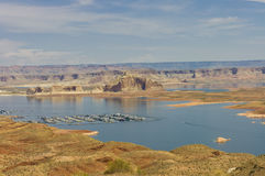 Marina in Lake Powell Stock Photos