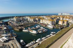 Marina le Sussex est de Brighton photos libres de droits