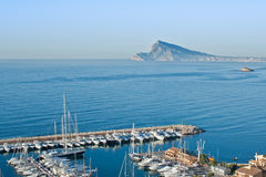 Marina of Luis Campomanes in Altea Spain Stock Images