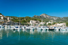 Marina at Majorca Balearic islands Royalty Free Stock Photos