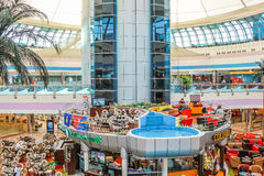 Marina Mall Abu Dhabi Stockfotos