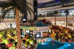 Marina Mall em Abu Dhabi fotos de stock