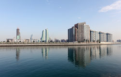 Marina in Manama, Kingdom of Bahrain Royalty Free Stock Image