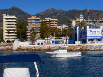 Marina in  Marbella on the Costa Del Sol Andalucia, Spain Stock Images