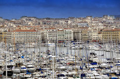 Marina in Marseille,France Royalty Free Stock Photos