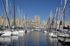 Marina in Marseille,France Stock Image