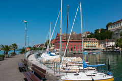 Marina at Meersburg Stock Images