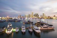 Marina in Miami, Florida Stock Photos
