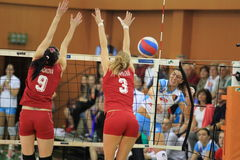Marina Miletic - volleyball Royalty Free Stock Images