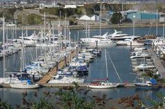 The Marina, Millbay, Plymouth Devon UK. Stock Image