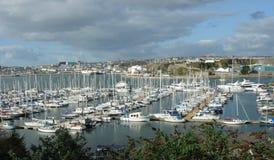 The Marina, Millbay, Plymouth Devon UK. Stock Images