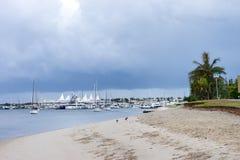 Marina miraż na Złocistym wybrzeżu Zdjęcie Stock