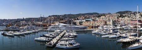Marina Molo Vecchio in Genoa, Italy Royalty Free Stock Photography
