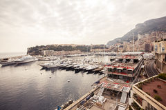 Marina of Monte Carlo Stock Images