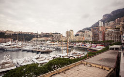 Marina of Monte Carlo Royalty Free Stock Images