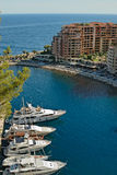 Marina of Monte Carlo Royalty Free Stock Image