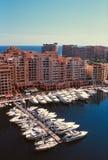 Marina in Monte Carlo Stock Photography